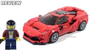 Lego Speed Champions 76895 Ferrari F8 Tributo Review Youtube