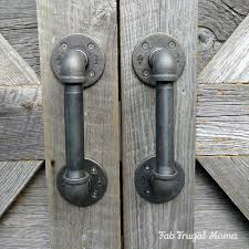 check out my diy door handles that rang in at under 30 then i ll show you how to make them