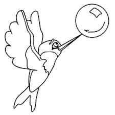 Small Picture Top 10 Hummingbird Coloring Pages For Your Toddler
