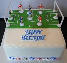 9 Football Birthday Cakes For Boys Photo Boys Football Birthday