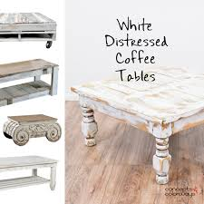 distressed white table. WHITE DISTRESSED COFFEE TABLES Concepts And Colorways Pertaining To Distressed White Coffee Table Plans 5 B