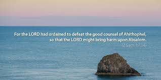 September 21st: Bible Meditation for 2 Samuel 17   Free Daily Bible ...