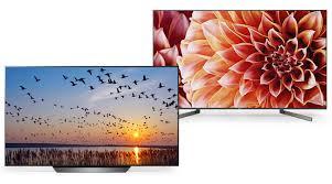 Samsung Tv Comparison Chart 2018 Pdf Lg Oled55b9pua