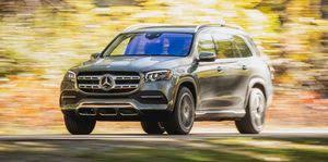 Choose the generation produced between 2015 and 2021 and find its weight starting from 2360 kg. 2021 Mercedes Benz Gls Class Review Pricing And Specs