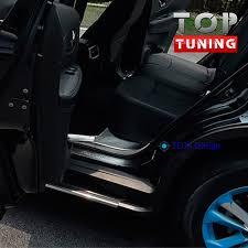 <b>Накладки</b> на <b>внутренние пороги</b> TECH Design на Nissan X-Trail T32
