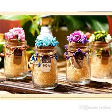 2018 small mini glass bottles jars with cork stoppers wedding candy bottle message wish jewelry party favors candy box bottle 099 from luckies