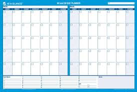 Amazon Com At A Glance Wall Planner Calendar Undated Erasable