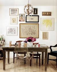 eclectic dining room designs. eclectic dining room with mix matched chairs and wall picture frames inspirations of the stunning designs t