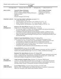 Sample Resume For Reading Teacher Your Prospex