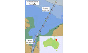 Australian Hydrographic Charts Bathymetric Encs In Confined Waters