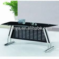 glass top office table. China 1.modern Simple Tempered Glass Top Office Table/desk 2.stainless Steel Table U