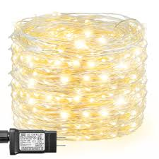 Intertek Christmas Lights Decute 99ft 300 Leds Copper Wire Starry String Lights 8 Modes 4 5v Christmas Fairy Lights With Ul Certified For Party Wedding Bedroom Christmas Tree