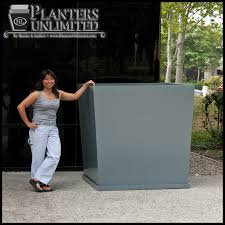 square fiberglass planters to enlarge