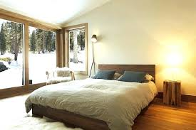 gallery scandinavian design bedroom furniture. Scandinavian Design Bedroom Furniture View In Gallery Modern Minimalism With Some Woodsy Cabin Charm Style