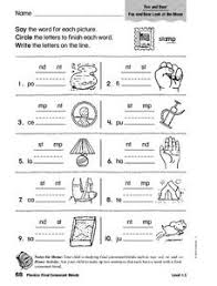 Phonics dice games for blends and digraphs. Consonant Blend Lesson Plans Worksheets Lesson Planet