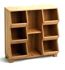 stackable wooden storage bins medium size of wood throughout plans 19