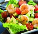 Рецепт салата с готовым морским коктейлем