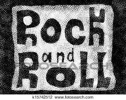 Word Backgrounds Clip Art Of Rock And Roll Music Word Background K15742512 Search