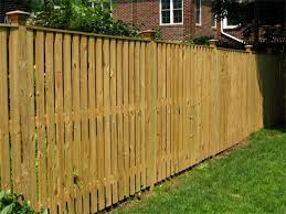 wood privacy fences. Wyngate Semi Privacy Fence Wood Fences