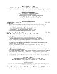 sample resume practice manager cipanewsletter medical transcription sample resume ancl digimerge net