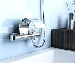 wall mount tub faucet brushed nickel wall mount waterfall wall mounted waterfall bath faucet