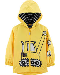 Skip Hop Raincoat Size Chart Construction Truck Raincoat Skiphop Com