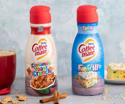 Learn what makes a 'good' vs 'bad' coffee creamer. Coffee Mate Is Coming Out With Cinnamon Toast Crunch And Funfetti Creamers