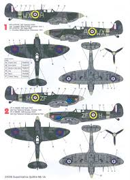 spitfire decals. click image for larger preview spitfire decals n