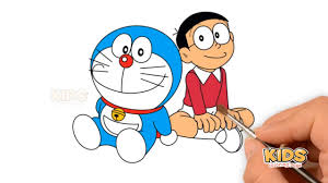 Learn colors bunny mold outdoor sand playground and animals finger family song for kids learn colors bunny mold and pasta spaghetti making toy wooden hammer finger family song voor. How To Draw A Doraemon In Hindi Doraemon Super Coloring Pages For Kids Youtube
