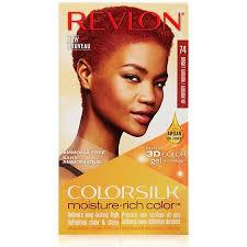 Revlon Colorsilk Moisture Rich Hair Color Bright Auburn 74 1 Ea