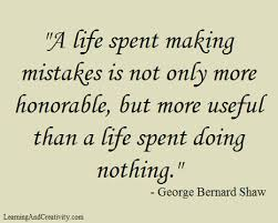 Learning From Mistakes Quotes Custom Learn From Mistakes Learning And Creativity