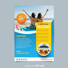 Travel Brochure Cover Design Photographic Travel Brochure Template Vector Free Download