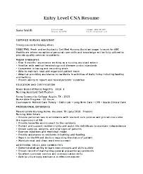 Cna Resume Example Resume Cover Letter Nursing Assistant Resume ...