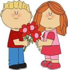 valentine s day clip art for kids. Wonderful Art Kids With Valentineu0027s Day Flowers Valentines Flowers Valentine Gifts  Romantic Intended S Clip Art For Y