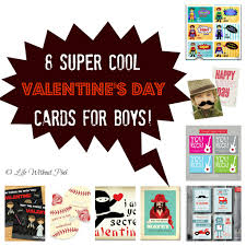 Valentines Day Cards For Boys Boy Inspired Valentines Day Card Ideas Life Without Pink