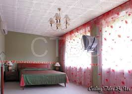 Nice Bedroom Remodeling Ceiling With Styrofoam Ceiling Tile, Can Be Applied To  Existing Secure Popcorn