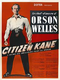 jean paul sartre reviews orson welles masterwork citizen  orson welles citizen french movie poster 14a
