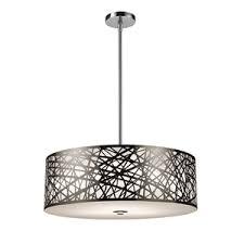 drum pendant lighting. E310545 Drum Pendant Light - Polished Stainless Steel Lighting R