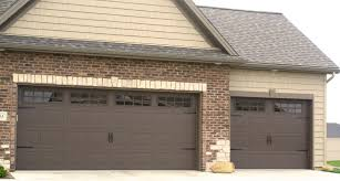 garage doors with windows styles. Brown Carriage Style Garage Door In Bloomginton Il With Gridded Doors Windows Styles