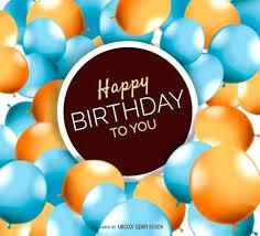 Happy Birthday Card Template Free Download Idmanado Co