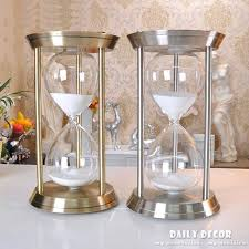 60 minute hourglass sand timer high quality metal big 1 hour minutes large roj antique wood 60 minute hourglass