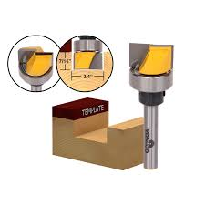 mortising bit. straight and spiral :: template trim hinge mortise/template router bit - 3/4\ mortising