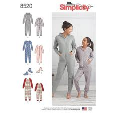 Simplicity Jumpsuit Pattern Awesome SIMPLICITY SEWING PATTERN GIRLS MISSES KNIT JUMPSUIT BOTTIES S