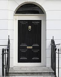 black doors are a sign of bad luck in the practice of feng shui but are