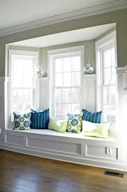 Window Seat Living Room Living Room Bay Window Painted White Lapeer Pinterest Window