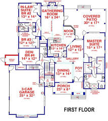 house plans with separate mother in law suite elegant home floor plans with inlaw suite house
