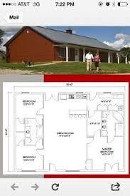 ideas about Morton Building Homes on Pinterest   Morton    Morton house plan sq ft  loving the simplicity  bathroom entrance needs revised