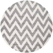 cambridge silver ivory 10 ft x 10 ft round area rug