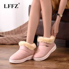 <b>LFFZ</b> 2018 new Waterproof <b>Women</b> Winter Shoes Snow Boots ...