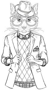 Small Picture cat coloring book for adults Google Search Coloring Pages for